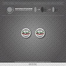 6002 - Alan Bicycle Handlebar Bar End Plug Stickers - Decals
