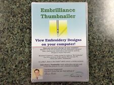 Embroidery Designs Embrilliance Thumbnailer Embroidery Software-Win/Mac DOWNLOAD