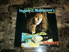 Yngwie Malmsteen Signed Rising Force Odyssey Vinyl LP Record COA Free Shipping