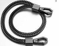 """NEW Stainless Steel Black Link Biker Trucker Punk Wallet Chain 16 """" Long"""