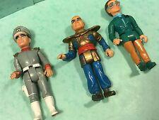 Stingray toys 100mm men matchbox 1992 inc,lieutenant Gerry Anderson rare toys !