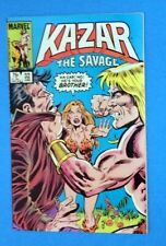 Ka-Zar The Savage 32, June 1984 w/ Shanna, Percival & Zabu  FN