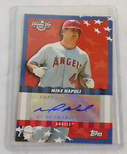 2007 Topps Opening Day~MIKE NAPOLI Los Angeles Angels~AUTOGRAPH hand signed
