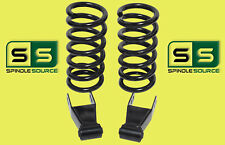 """1997 - 2003 Ford F-150 F150 V8 2WD 2"""" / 2"""" Drop Lowering Kit Coils Shackles"""