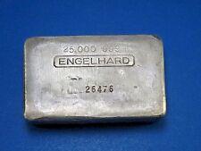 Engelhard 25 oz Silver Bullion Bar Canadian Early Pour Low Mintage 999+ #26476