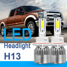 1Pair H13 9008 LED Headlight Kit for Ford F-250 F-350 F-450 F-550 Hi Lo Beam
