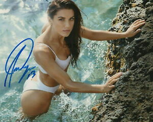 Alex Morgan Autographed Signed 8x10 Photo Team USA Soccer Swimsuit Sexy REPRINT