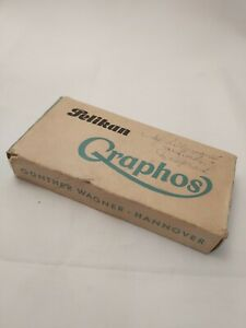 Vintage Graphos PELICAN Ink Pen for Design, Technical Drawing and Calligraphy