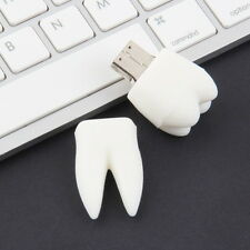 8GB 8G Cute Tooth Teeth Model USB 2.0 Enough Memory Stick Flash Pen Drive New FT