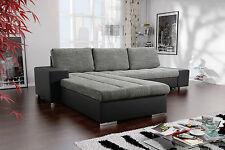 Couchgarnitur Couch VERONA 6 L Sofagarnitur Sofa mit Schlaffunktion Polsterecke