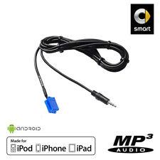 Cable Auxiliaire MP3 pour autoradios d'origine Smart ForFour, Smart ForTwo