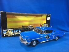 ERTL American Muscle 1:18 POLICE CHEVY IMPALA 1958 MICHIGAN STATE POLICE - 32819