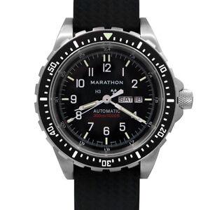 Military Marathon Jumbo Day/Date (JDD) Swiss Made Dive Watch New w/ warranty