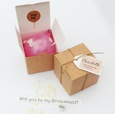 'WILL YOU BE MY' PERSONALISED PINK BALLOON PROPOSAL BRIDESMAID GODMOTHER, BRIDAL