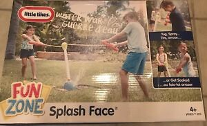 Little Tikes Fun Zone Splash Face, Tug, Spray, Get Soaked,For Ages 4+, NIB