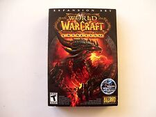 World of Warcraft Cataclysm Expansion Set PC Computer Game Blizzard