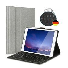 """QWERTZ für iPad 2019 7th Gen 10.2"""" Tastatur Bluetooth Keyboard Case Schutz Hülle"""