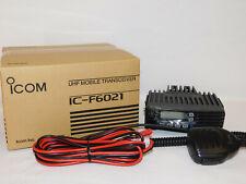 New Icom F6021-51 Uhf 400-470mhz Analog Mobile radio Wide / Narrow Band Display
