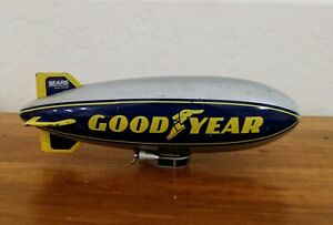 "LIBERTY CLASSICS 9"" DIE-CAST GOODYEAR BLIMP COIN BANK"