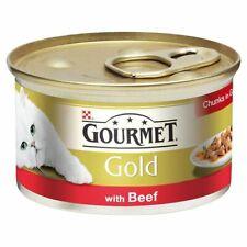 Gourmet Gold Beef Cat Food   Cats