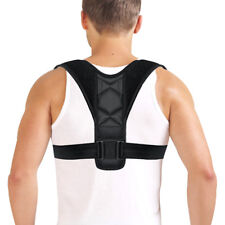 Posture Corrector Adjustable Clavicle Back Support Brace Lumbar Belt Protector