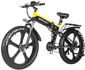 1000W Electric Snow Bike 48V Electric Mountain Bike 4.0 26inch Fat Tire Bike