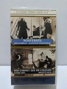 Classic Video Box Set - Nosferatu & Der Cabinet Des DR Caligari VHS