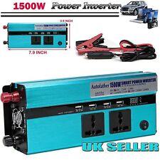Car 1500/3000watt Converter Power Inverter DC 12v to AC 220v Invertor Electronic
