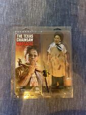 """Leatherface 8"""" Retro Clothed Action Figure Texas Chainsaw Massacre NECA Complete"""