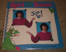 Join In! April And Susan~RARE Canada Children's Educational Activities~Insert