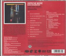 depeche mode black celebration cd & dvd promo