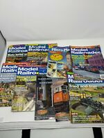 Huge Lot 49 issues model railroader magazine Walthers Flyer Train Layout *read!*