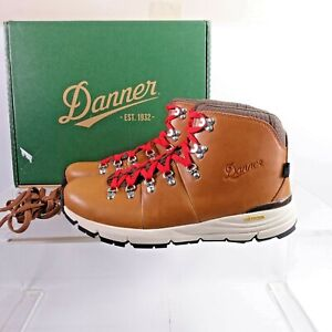 Size 11.5 Men's Danner Mountain 600 Waterproof Hiking Boots 62246 Saddle Tan