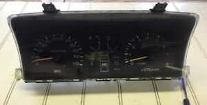 Subaru Justy GL RS 4X4 5 Speed 87 88 Gauge Cluster With Tach Gauges