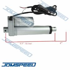 "New Heavy Duty Linear Actuator 4"" inch Stroke 225 Pound Max Lift DC 12V/24V"