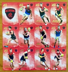2020 SELECT AFL DOMINANCE SERIES MELBOURNE DEMONS CARD SET