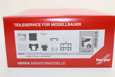Herpa 084659 Driver's Cab Scania CR ND O.Spoiler and Chassis Trim NEW