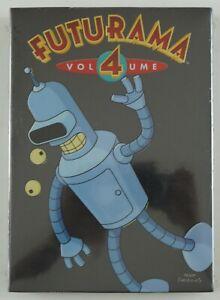 Futurama Volume 4 The Complete Fourth Season DVD box set 2004 NEW SEALED