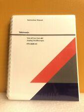 Tektronix 070 8688 01 Tas 475 Amp Tas 485 Analog Oscilloscopes Instruction Manual