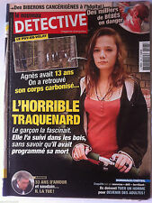 DETECTIVE du 23/11/2011; Défi; Ils doivent tuer un homme pour devenir adulte !
