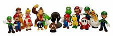 """18 PC Super Mario Brothers Figures Set - 2"""" PVC Toys for kids gifting collection"""