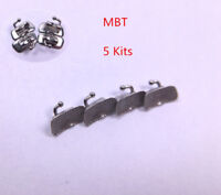 Dental Buccal Tubes MBT Orthodontic Non-convertible 1st Molar 022 * 5 kit