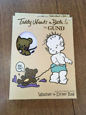 Teddy needs a wash! washer and dryer bag by Gund