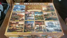 WHITE MOUNTAIN PUZZLES BY TERRY REDLIN 10 PUZZLES IN 1 / 100 to 500 PIECES - NEW