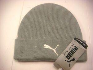 Vintage Puma Hat Beanie Bobble Unisex Small Adult