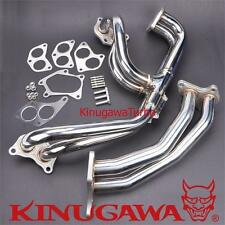 Turbo Exhaust Manifold Header SUBARU STI Type C Twin Scroll VF36 VF37 VF42