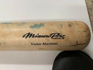 Victor Martinez Game Used Mizuno Pro Bat Tons of Use   Detroit Tigers