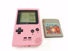 Nintendo Gameboy Pocket Pink Handheld Console GBP Game Boy Plus Tetris Game