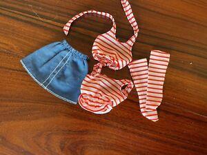 Barbie Skipper clone striped outfit super cute!