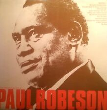 "PAUL ROBESON 10"" RECORD THE INCOMPARABLE VOICE OF RECORD 1 & 2 MONO"
